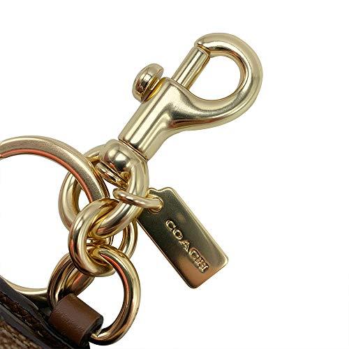 COACH【コーチ】バッグチャームキーホルダーF77675GDKHAカーキシグネチャーPictureFrameシグネチャーレザーアウトレット[並行輸入品]