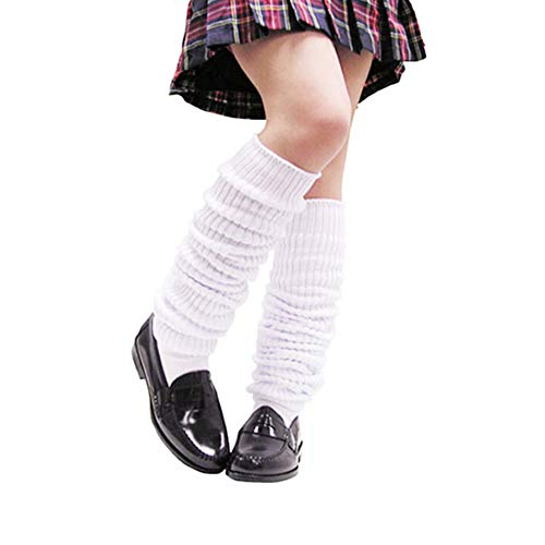 BAOBAO Loose Socks Japanese Style School Girls Slouch Cotton Socks(Long 23-70 Inches)