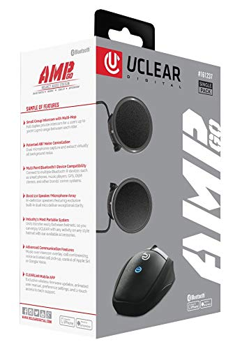 Find Discount UClear AMP Go Helmet Audio System