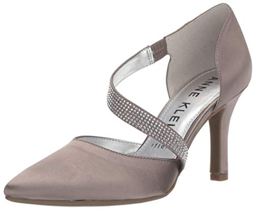 Anne Klein Women's Fantastical Pump, Silver, 8 M US