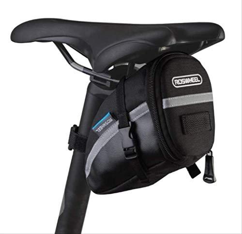 DHR Sacoche de Selle Moto,Sacoche de Selle,Sacoche de Selle VTT,Sacoche de Selle Velo Route,Sacoche Cadre Velo vaude,Toile TPU +, kit d'accessoires pour équipement de Cyclisme en Plein air