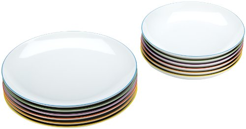 Arzberg Form Cucina Colori Speiseset 12-tlg. -Sondersortierung-