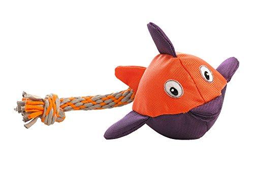 HUNTER SWIMMING PALU Hundespielzeug, Wasserspielzeug, Nylon, Tau, schwimmfähig, Fisch