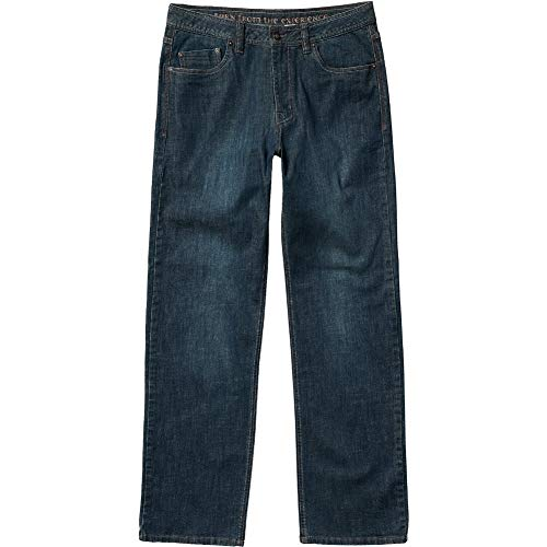 Prana Herren Standard Axiom Jeans Antique Stone Wash, 42 W x 34 L