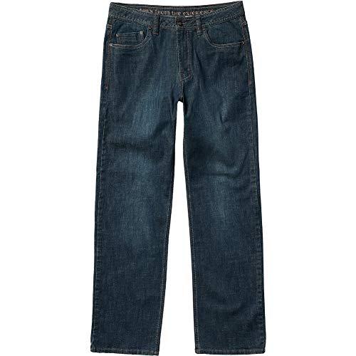 Prana Herren Standard Axiom Jeans Antique Stone Wash, 42 W x 34 L