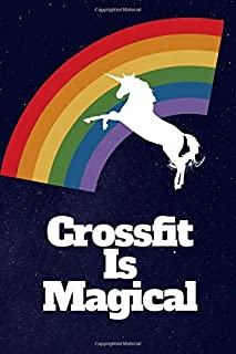 Crossfit WOD Journal: Crossfit Workout Journal - WOD Logbook - Exercise Planner - Cross Training Tra