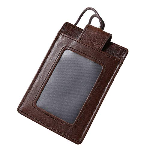 RFID-kaart ID-kaart werknemerskaartset, met touw afneembare bedrijf/fabriek werknemer Badge Set Koffie