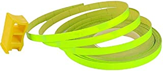 Felgen Rand Aufkleber 6mm x 8,5m Streifen Pin Stripe Auto Motorrad (Neon Gelb)