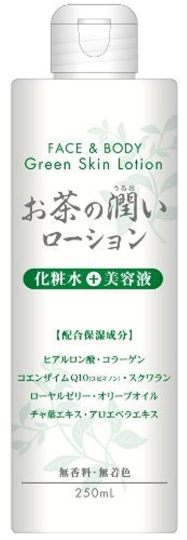 腹習字設置お茶の潤い ローション 250ml ×6個セット