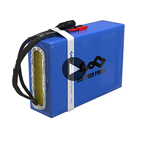 48V 1000w Ebike Battery 20AH Electric Bike Battery with Charger for Ebike, Go Kart, Scooter 1000W 750W 500W - Waterproof Lithium Battery Pack