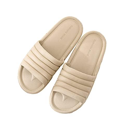 Zapatos Baño Unisex Sandalias Diapositivas para Mujer Zapatillas Hombre Chanclas Jardín Verano Plataforma Antideslizantes para Interiores Y Exteriores,#5,42/43