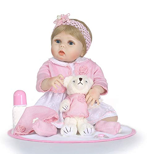 FACAIA Rebirth Doll, Juguetes para niños Reborn Dolls Toddler 22