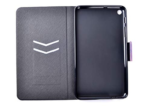 LMFULM® Hülle für Huawei MediaPad T1 / T1-701U (7 Zoll) PU Leder Ultra Dünn Magnet Lederhülle Stern Traumfänger Muster Standfunktion Tasche Schutzhülle für Huawei T1 7.0 - 4
