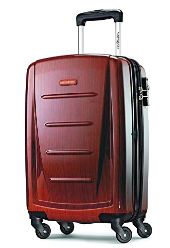 Samsonite Winfield 2 Hardside Expandable Luggage with Spinner Wheels, Burgundy, Carry-On 20-Inch