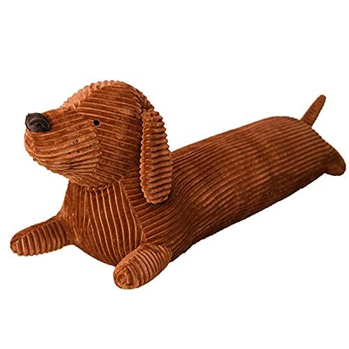 Stofftier Hund 70cm Kuscheltier Plüschtier Liegend Hund Seitenschläferkissen Weiches Spielzeug Kissen Dekoration Geschenke für Kinder Freund