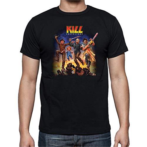 The Fan Tee Camiseta de Hombre Varios Peliculas Fredy Viernes 13 Terror Chucky L