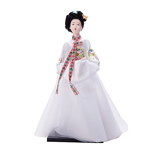 """THY COLLECTIBLES 13.4"""" Korean Beauty Oriental Doll DOL7509-D2"""