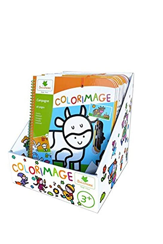Au Sycomore?–?cre6019?Pencil Display?–?3?+ Years 24?Pieces Multi-Coloured