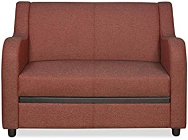 @home by Nilkamal Gregory 2 Seater Sofa (Maroon)