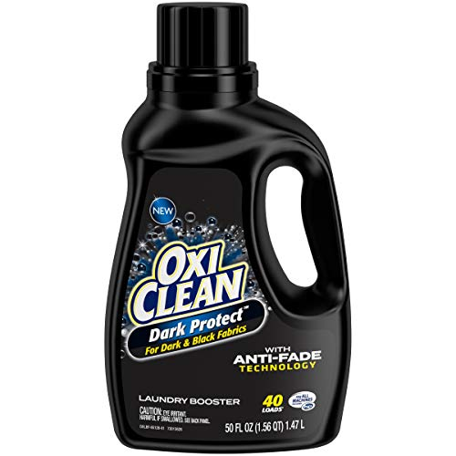 Oxiclean Dark Protect for Dark and Black Fabrics with Anti-Fade Technology, 40 Loads, 3.12 Pound
