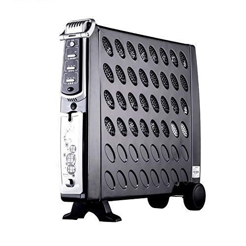 Heater 5S Double Cœur Rapide Chauffage Chauffe-Huile Télécommande Temporisations De Sécurité À...