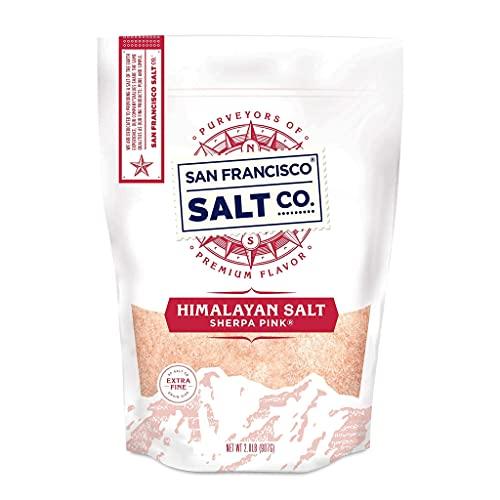 Sherpa Pink Himalayan Salt - 2 lbs. Extra-Fine Grain