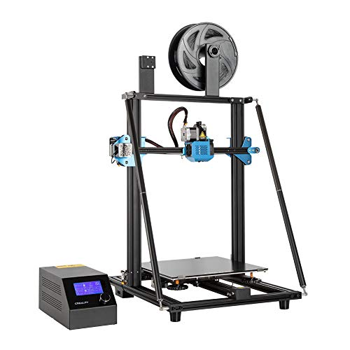 Impresora 3D Creality CR-10 V3 con extrusora directa de titanio, placa base silenciosa, fuente de alimentación Meanwell, sensor de filamento y tamaño de impresión para 300 * 300 * 400mm