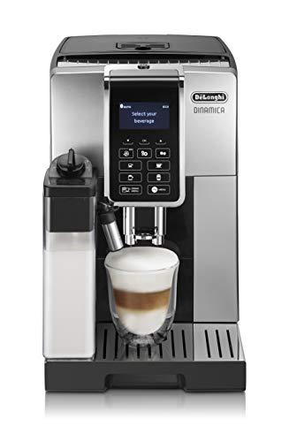 DeLonghi Dedica Style Dinamica Ecam espressomachine, vrijstaand, volautomatisch, roestvrij staal