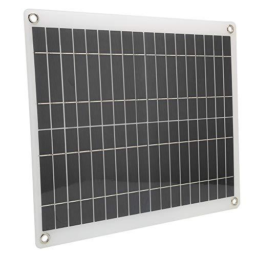FOTABPYTI 【ó 】 Panel Solar de 16.6x14.6in, Placa de Carga Solar de...