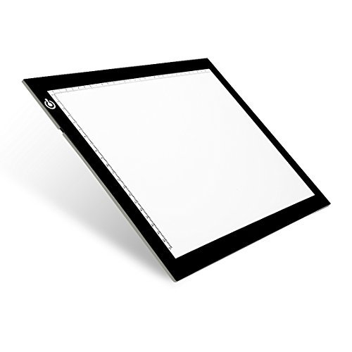 NXENTC A4 Tracing Light Pad, Ultra-Thin Tracing Light Box USB Power Artcraft Tracing Light Table for Artists, Drawing, Sketching, Animation