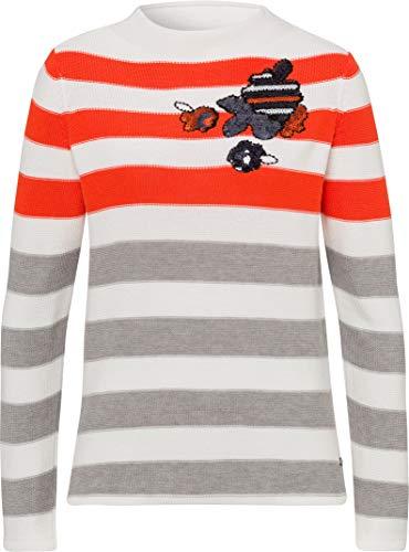 Brax damski styl Lee sweter bawełniany w paski sweter