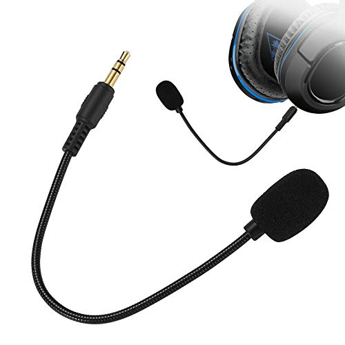 Limvoo Replacement Mic 3.5mm for Turtle Beach - Microphone for Headset - for Turtle Beach mic Replacement