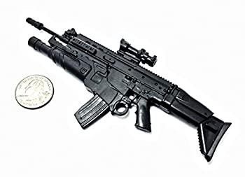1/6 Scale FN Scar Assault Rifle US Army FN Herstal Gun Model Fit for 12  Action Figure  Mini Toy Gun 6  Long
