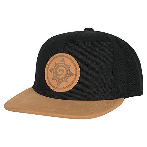 JINX Hearthstone Two-Tone Rose Snapback Baseball Hat, Black, One Size