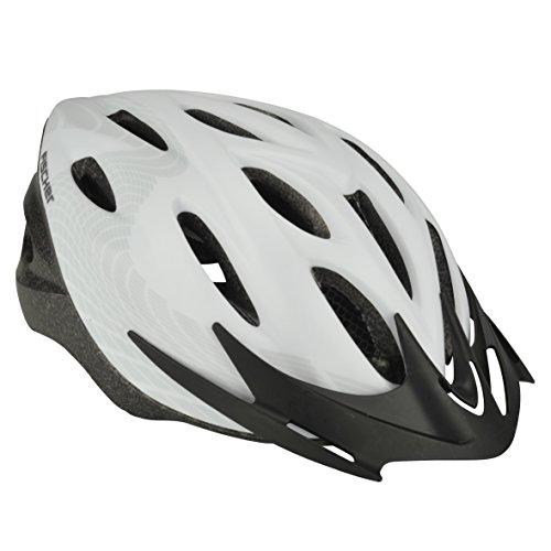 FISCHER Erwachsene Fahrradhelm, Radhelm, Cityhelm, Weiß, L/XL