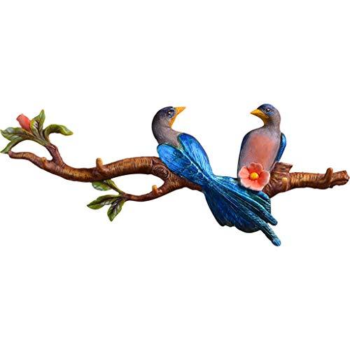 Porte manteau Mural Mural Crochet décoratif Crochet décoratif Mural patère (Color : Color, Size : 53 * 3.5 * 22cm)
