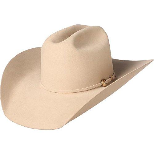 NRS American Hat Company Mens Silver Belly 1000X Mink 4 1/4 Brim Felt Cowboy Hat 73/8