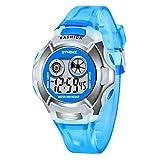 HINK Nuevo Reloj Deportivo Multifuncional Impermeable Luminoso Reloj Digital para Hombre Reloj de hogar y jardín