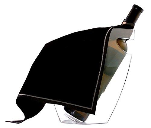 koala 6202NN01 -Protezione per vaschetta per Il Ghiaccio, Colore: Nero