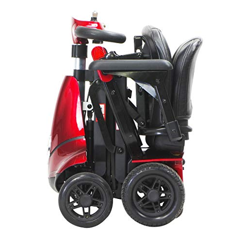 Monarch MOBIE PLUS Folding Mobility Scooter - 4 Wheel Electric Scooters for Adult