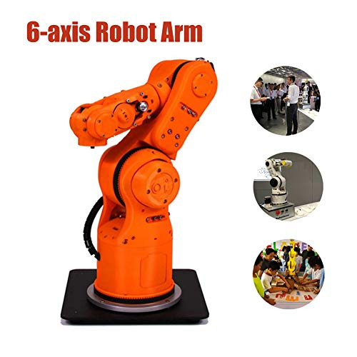 MYLW 6-axis Robot Arm robot arm building kit Multi-function Humanoid Bionic robot arm toy Support PC mobile phone teach pendant voice APP and other intelligent interactive control methods