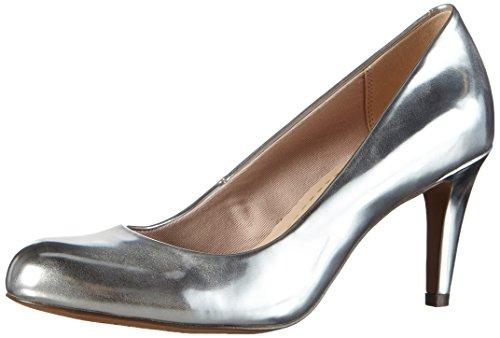 Clarks Carlita Cove Damen Pumps, Grau (Silver), 39.5 EU (6 Damen UK)