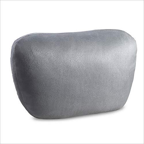 TZYKCN Bio Velvet autostoel hoofdsteun kussen auto nek stoel comfortabele bekleding kussen Grijs