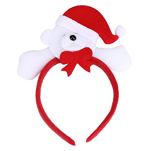 Ouneed® Couronne Checeux Noel 12*25cm Adulte / Enfant (G)