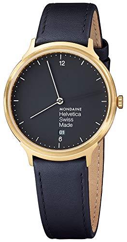 Mondaine helvetica no1light 38 orologio Donna Analogico Al quarzo con...