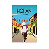 SDFSDF Hoi An Vietnam Retro-Reise-Poster, dekoratives