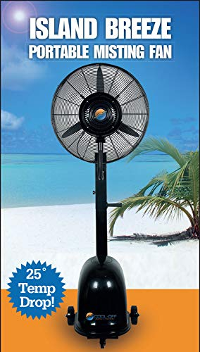 Cool-Off 12 Gallon Island Breeze Oscillating Misting Fan with 3-SPEED QUIET...