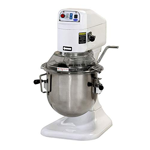 Globe SP08 8-Quart Countertop Planetary Mixer, Stainless Steel, NSF