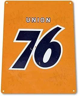 SRongmao Union 76 Gas Station Motor Oil Garage Shop Auto Retro Wall Decor Metal Tin Sign 16x12in