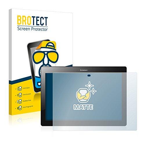 BROTECT 2X Entspiegelungs-Schutzfolie kompatibel mit Lenovo Tab 2 A10-30 Bildschirmschutz-Folie Matt, Anti-Reflex, Anti-Fingerprint